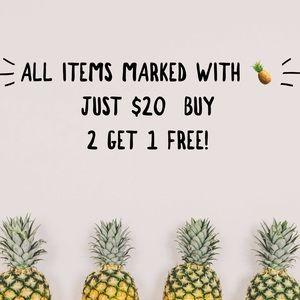 Closet SALE $20 Items 🍍